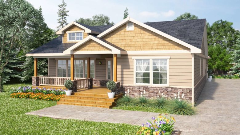 Whispering Firs 3 Bedroom One Story Home